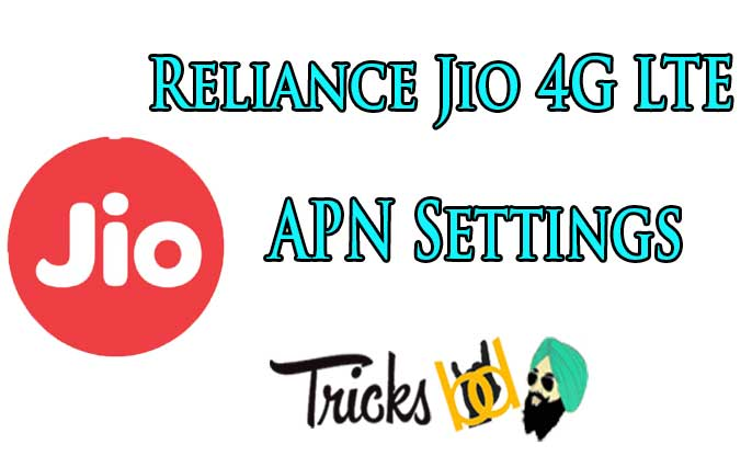 jio apn settings