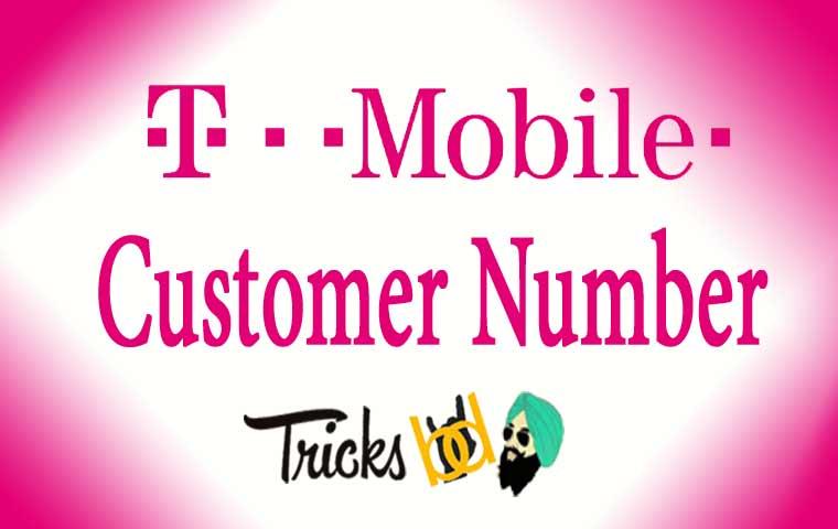 tmobile customer number